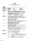 管理类中文简历模板